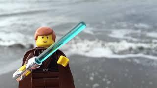 Lego Star Wars - Episode 2 Anakin Skywalker Rare Minifigure Review (обзор на русском)