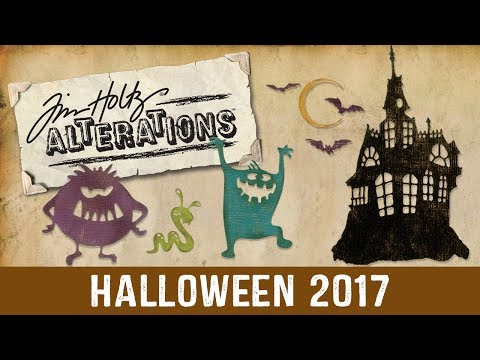 Tim Holtz Halloween Collection 2017