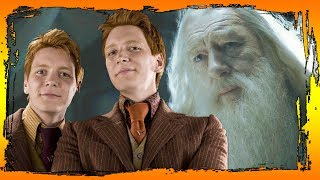 WHY ARE WEASLEY-TWINS GUILTY IN DUMBLEDDORE'S DEATH AND OTHER / Harry Potter