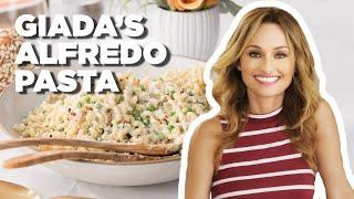 Giada De Laurentiis Makes Lemon And Pea Alfredo   Food Network