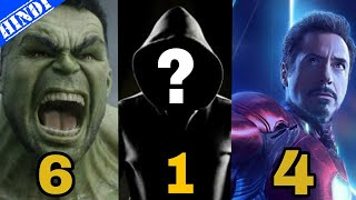 Top 10 Most Powerful Superheroes of All Time   Marvel   Top 10 Superheroes   Explained in Hindi