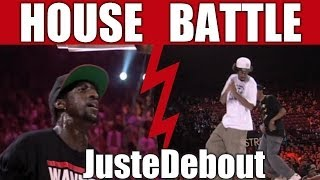 Juste Debout 2012 - House dance final - Mamson & Babson vs Serge & Kapela