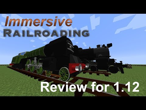 Immersive Railroading Mod | Review for Version 1.12