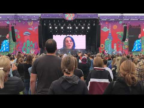 Billie Eilish - when the party's over - live - Lollapalooza Berlin, 7.9.2019