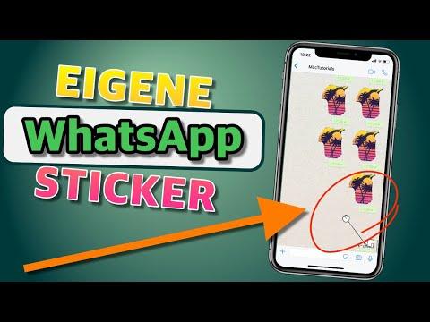 Eigene WhatsApp Sticker erstellen! (Tutorial)