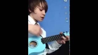 Daniel Huttlestone Singing-I'm Yours