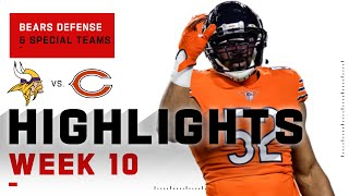 Bears Defense & Special Teams Put Up a Fight | NFL 2020 Highlights