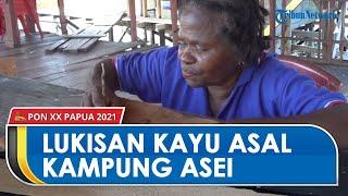 Mengenal Lukisan Kulit Kayu Asal Pulai Asei Kabupaten Jayapura Papua