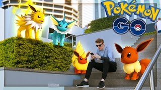 In today's Pokemon GO adventure we EVOLVE our first Eevee, what do we get? ❱ Subscribe & never miss a Video - http://bit.ly/LachlanSubscribe PREV: https://youtu.be/77LKBT-ylxE ❱ Second Channel - https://www.youtube.com/LachlanPlayz   ❱ Follow me on: Twitter! https://twitter.com/LachlanYT Twitch: http://www.twitch.tv/LachlanTV Instagram: http://instagram.com/LachlanPower  -----  Music Supplied by MonsterCatMedia - https://www.youtube.com/user/monsterc... Incompetech - http://www.incompetech.com/