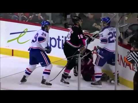 Patrick D'Amico vs Jake Virtanen