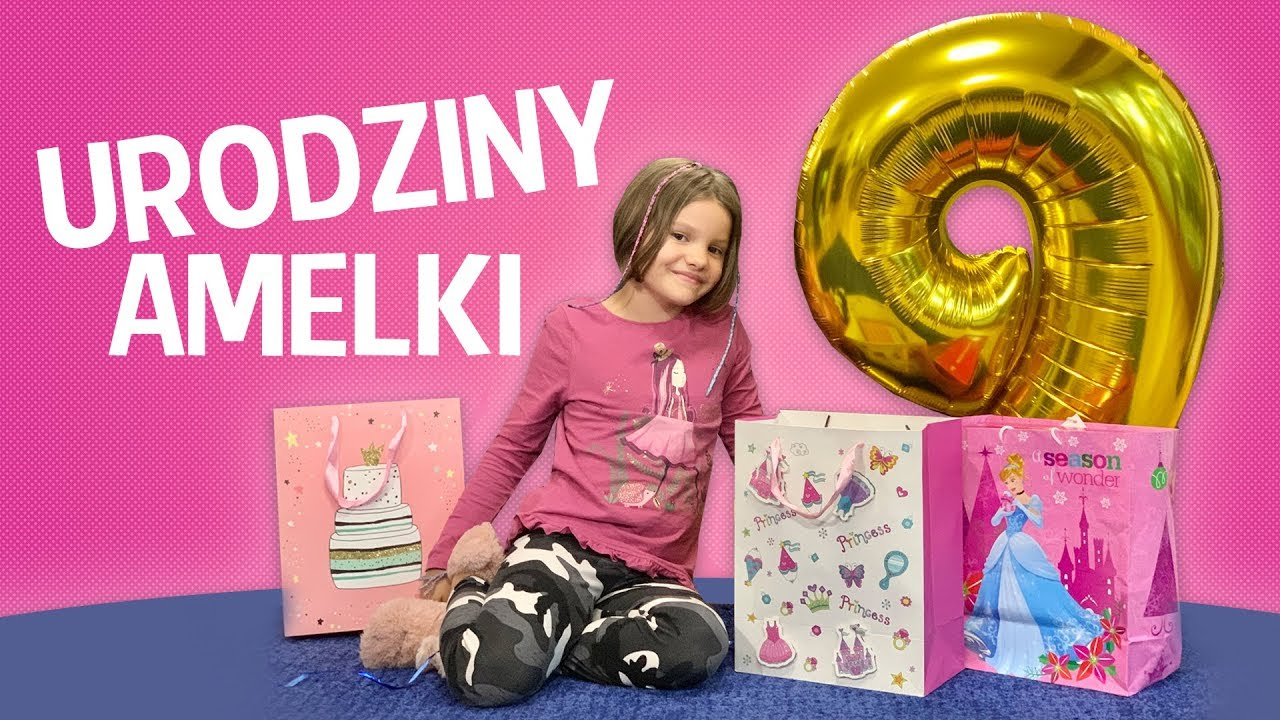 Urodziny Amelki, Czy Hani wyjdzie prezent? Co dostała Amelka?