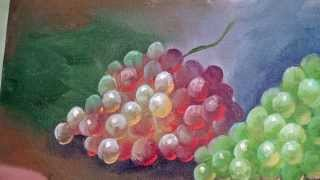Tirando Dúvidas Sobre Pintura – Como pintar uvas