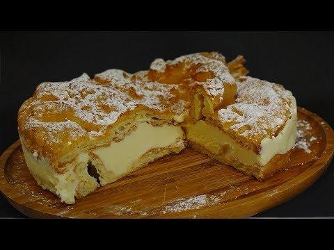ТОРТ ЭКЛЕР КАРПАТКА /ЕГО СТОИТ ПОПРОБОВАТЬ/  Cake Eclair