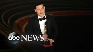 Rami Malek takes home an Oscar for best actor