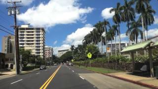 preview picture of video 'from Kahala Mall to Tantalus'