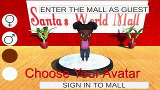 Santasworldmall mobile mall customers! online Game trailer