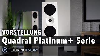 Vorstellung: Quadral Platinum+ Designer Lautsprecher Serie