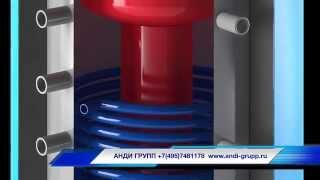 Вертикальный бойлер косвенного нагрева на 750л  Omicron от компании Производственная компания «АНДИ Групп» - видео