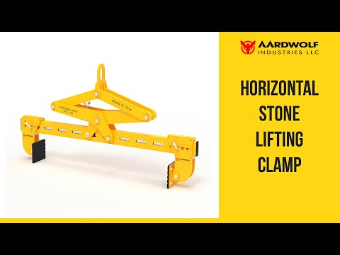 Horizontal Stone Lifting Clamp - 1370