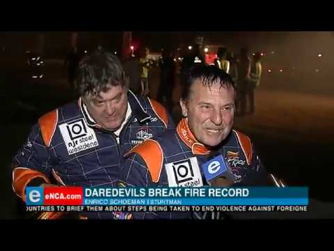 Daredevils break fire record