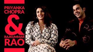 Priyanka Chopra & Rajkummar Rao interview with Rajeev Masand | The White Tiger | Netflix