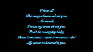 Embraceable you with lyrics