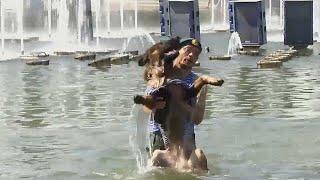 День ВДВ: защита Родины и купание в фонтанах