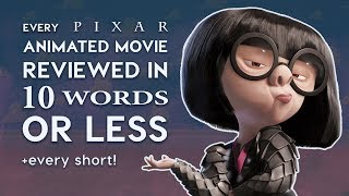 Every Pixar Movie Reviewed in 10 Words or Less!