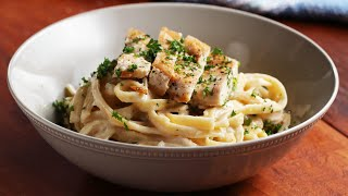 The Best Dairy-Free Chicken Alfredo • Tasty