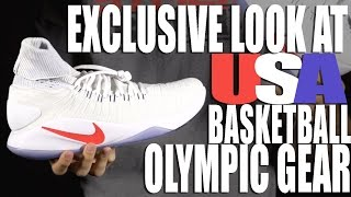 Get An Exclusive Look At USA Basketballs Nike Olympic Gear