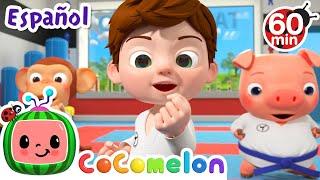 CoComelon en Español | Taekwondo | Compilación de Canciones Infantiles y de Cuna