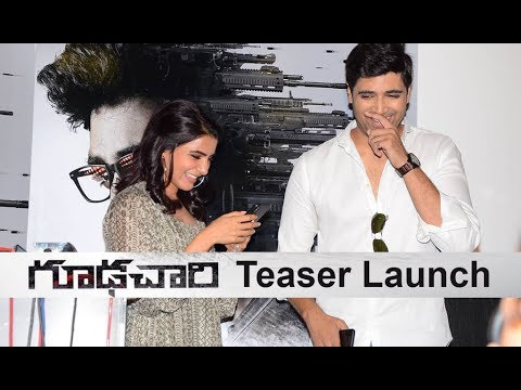 Goodachari Movie Teaser launch