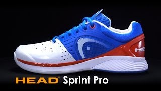 Head Sprint Pro Men's Tennis Shoes video
