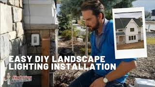 Landscape Lighting Installation Step By Step