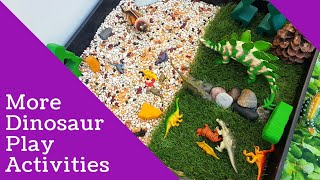 Dinosaur Play Activities For Early Years