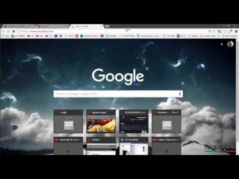 Tutorial uso sito web