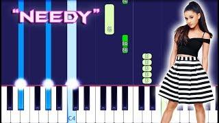 Ariana Grande - Needy Piano Tutorial EASY (Piano Cover)