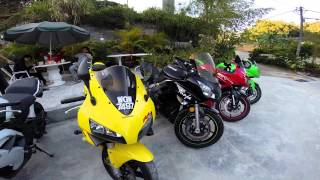 preview picture of video 'Cameron Highland Malaysian Bikers'