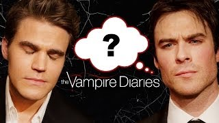 """The Vampire Diaries"" Who Said It Edition - Ian Somerhalder, Paul Wesley, Nina Dobrev"