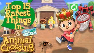 Top 15 Rarest Things in Animal Crossing: New Horizons
