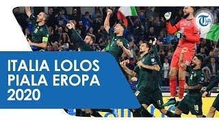 Timnas Italia Pastikan Diri Lolos ke Piala Eropa 2020