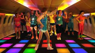 Mile-high madness with Richard Simmons! #AirNZSafetyVideo