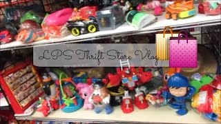 LPS Thrift Store Shopping | VLOG #1 |