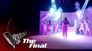 Donel Mangena and will.i.am Perform 'OMG': The Final | The Voice UK 2018
