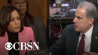 IG report hearing part 9: Senators continue to question Michael Horowitz
