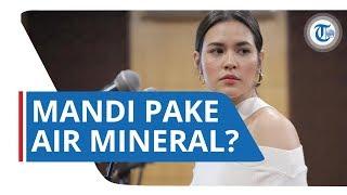 Raisa Bantah soal Isu Dirinya Mandi Pake Air Mineral Merek Tertentu