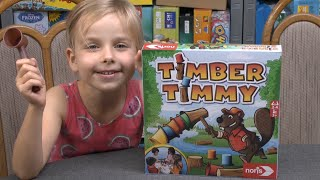 Timber Timmy (Noris) ab 3 Jahre … für etwas ältere Kinder eher Speed Cups