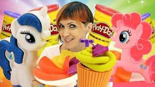 Видео для детей - Веселая школа с Плей До - Лепка