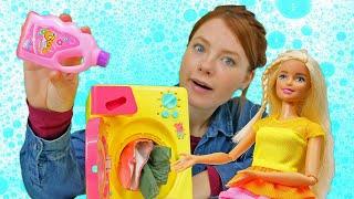Spielspaß mit Barbie und Irene. Puppen Video für Kinder. 2 Folgen am Stück