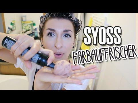 Haarfarbe auffrischen LIVE Test Syoss Color Refresher  | VLOG #420 | DIANA DIAMANTA